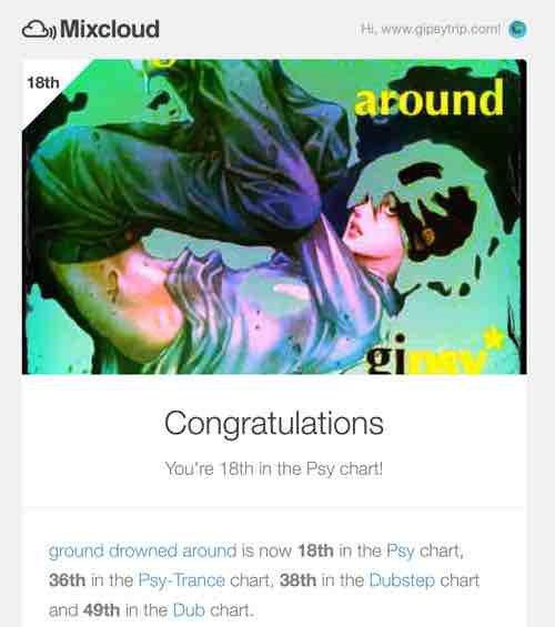 170104_40th Psy-Trance chart_ground drowned around