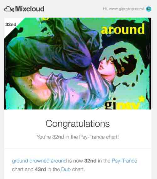 170105_32nd Psy-Trance chart_ground drowned around