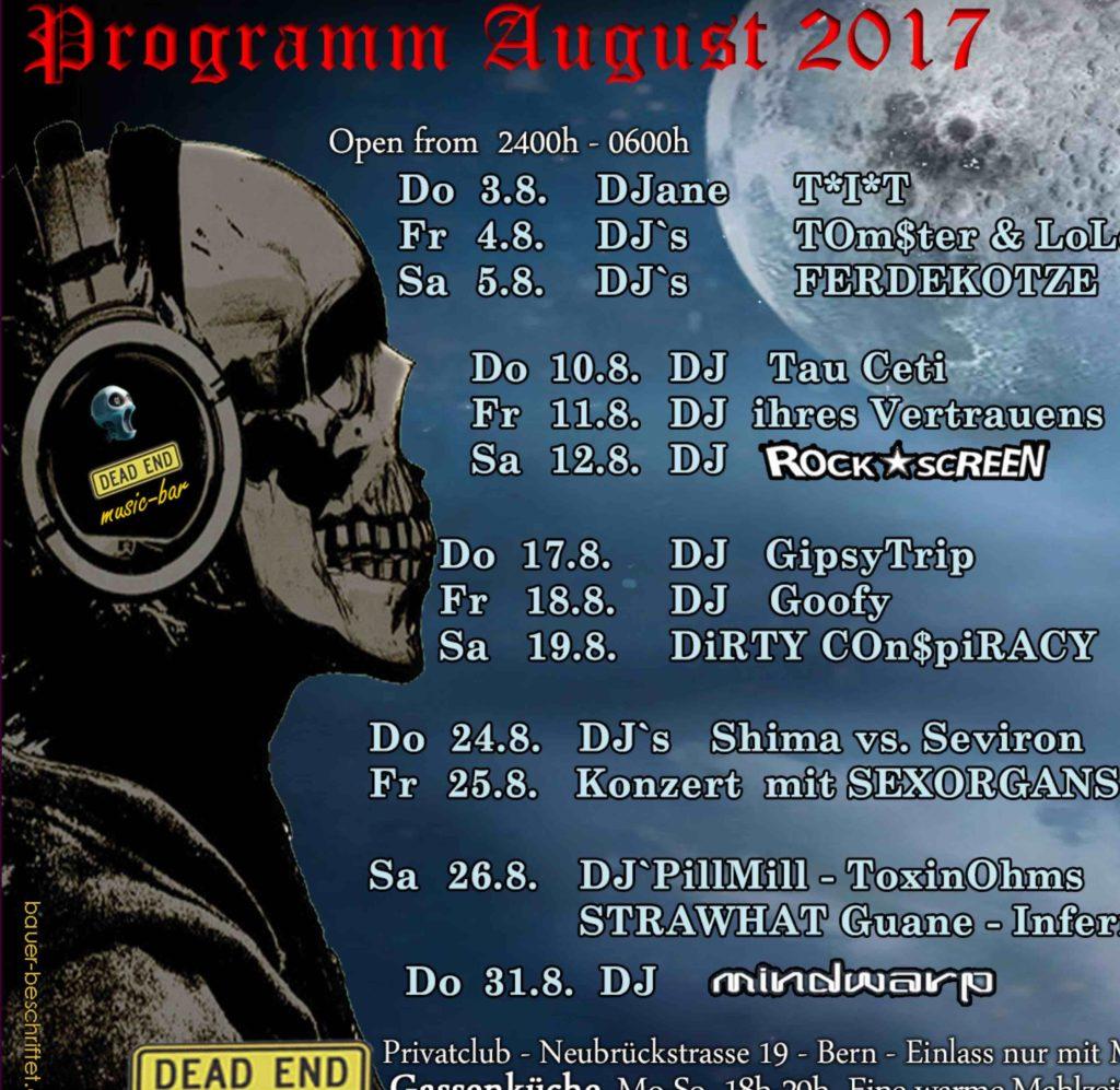 Program August 2017 - DEAD END