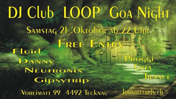 DJ Club LOOP – Goa Night – gipsytrip DJ Live set
